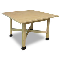 4-Student Table with 1-1/4 in. Thick Plastic Laminate Top