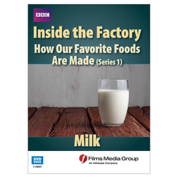 Milk - Inside the Factory - How Our Food is Made - Series 1 DVD