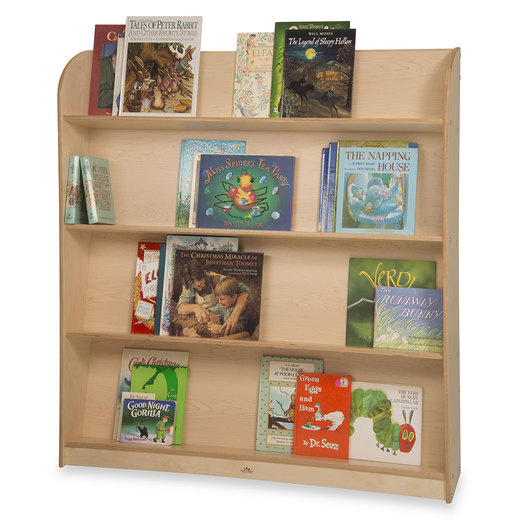 Whitney Brothers® Single-Sided Library Shelving
