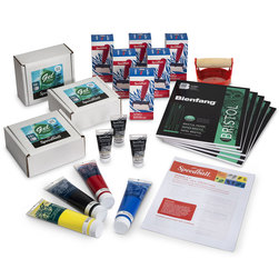 Speedball® Gel Printing Plate Classroom Bundle - 5 in. x 5 in.