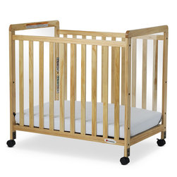 SafetyCraft Compact Clearview Wooden Crib