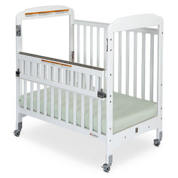 Serenity Compact, SafeReach Clearview Wooden Crib - White