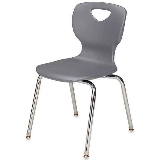 Allied Choice™ Series Ergonomic 18 in. Stack Chair - Platinum