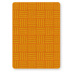 Flagship Carpets® Tone on Tone Hash Tag™ Texture Solids® Carpets - Orange - 6 ft. x 8 ft. 4 in.
