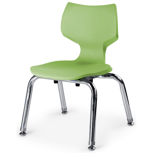 Flavors® Stack Chair - 12 in. H - Apple
