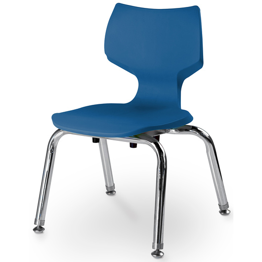Flavors® Stack Chair - 12 in. H - Persian Blue