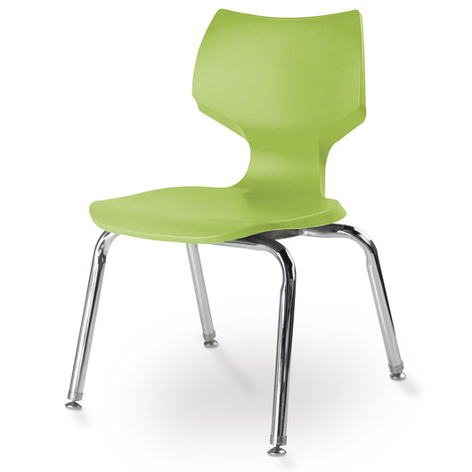 Flavors® Stack Chair - 14 H - Apple