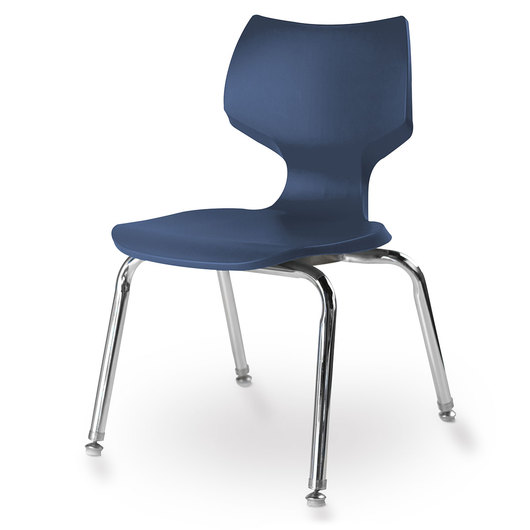 Flavors® Stack Chair - 14 H - Navy