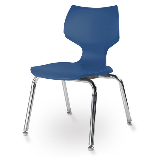 Flavors® Stack Chair - 14 in. H - Persian Blue