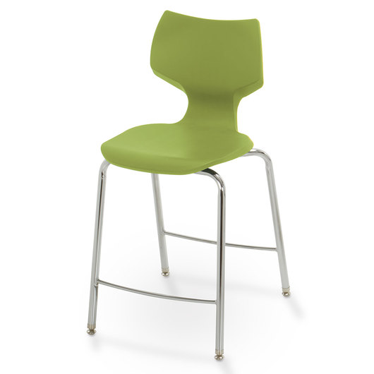 Flavors® Fixed-Height Stool - 24 in. H - Apple