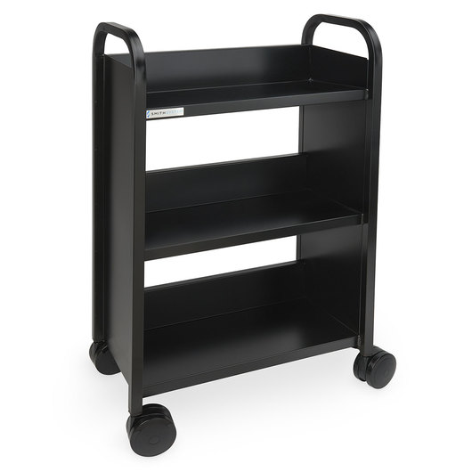 Book Truck - 24 in. - Black