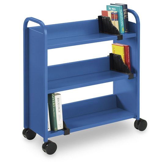 Book Truck - 36 in. W - Persian Blue