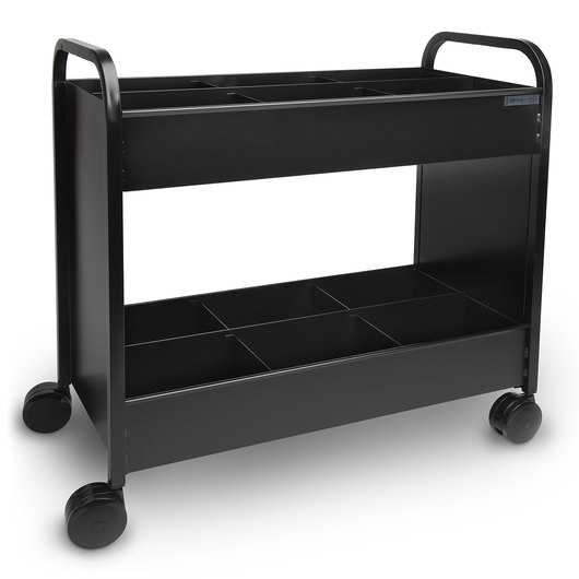 The Everything™ Cart Book Truck - Black