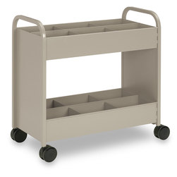 The Everything™ Cart Book Truck - Sand