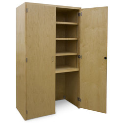 Large Capacity Project Storage Cabinet with Lower Garage Area