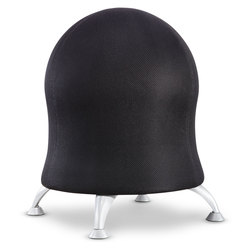 Ball Chair - 23 in. H x 17-1/2 in. dia. - Black