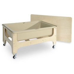 Wood Designs™ Deluxe Sand and Water Table with Lid