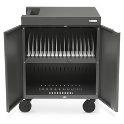 CUBE™ Cart for 16 Devices - Charcoal