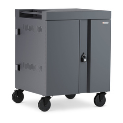 CUBE™ Cart for 32 Devices - Charcoal