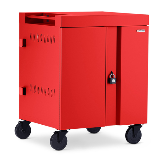 CUBE™ Cart for 32 Devices - Red