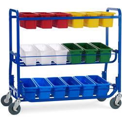 Library on Wheels™ - 18 Small Tubs