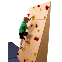 Climb-Able™ Traverse Wall® Without 2 in. Mat and Cordless Mat Locking® System