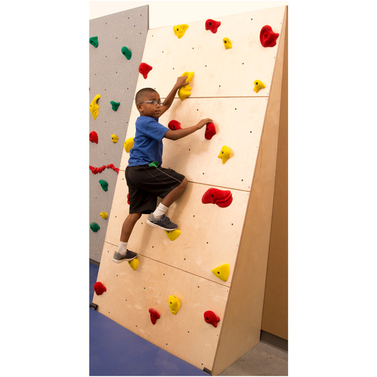 Climb-Able™ Traverse Wall® with 2 in. Mat and Cordless Mat Locking® System