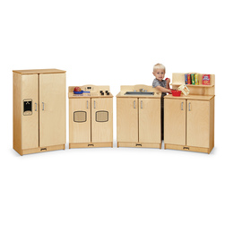 Jonti-Craft® Culinary Creations Play Kitchen 4-Piece Set