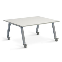 Planner Studio Table - 48 in. W x 40 in. H x 36 in. D - White Board Top