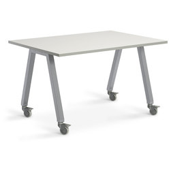Planner Studio Table - 60 in. W x 29 in. H x 36 in. D - White Board Top