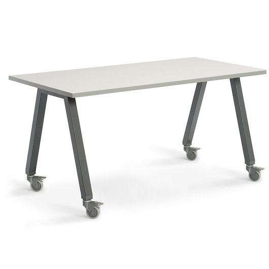 Planner Studio Table - 72 in. W x 29 in. H x 36 in. D - White Board Top