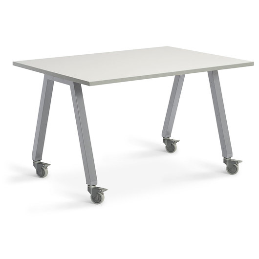 Planner Studio Table - 60 in. W x 36 in. H x 42 in. D - White Board Top