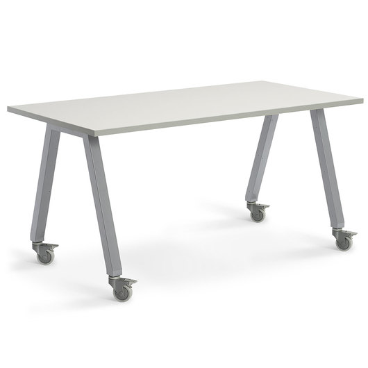 Planner Studio Table - 72 in. W x 29 in. H x 42 in. D - White Board Top