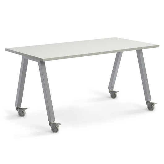 Planner Studio Table - 72 in. W x 40 in. H x 42 in. D - White Board Top