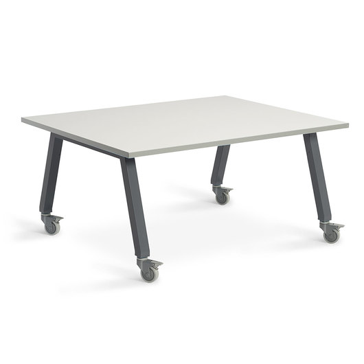 Planner Studio Table - 60 in. W x 29 in. H x 48 in. D - White Board Top