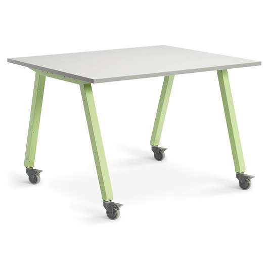 Planner Studio Table - 60 in. W x 40 in. H x 48 in. D - White Board Top