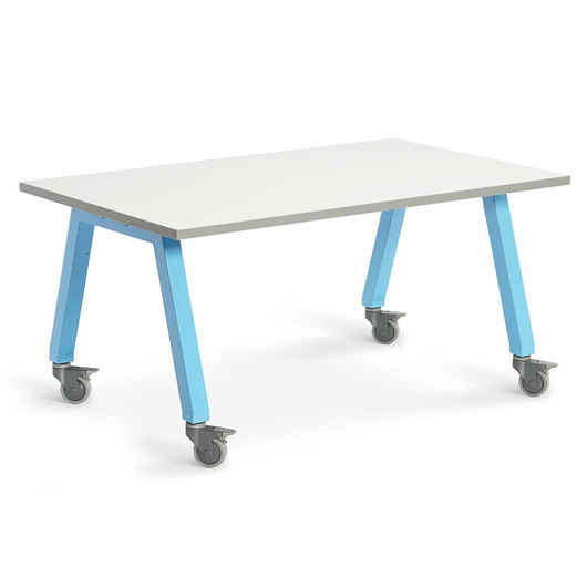 Planner Studio Table - 72 in. W x 36 in. H x 48 in. D - White Board Top