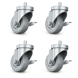 Utility Table Casters