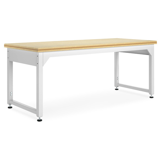 Adjustable Metal Tables - 96 in. W ShopTop®