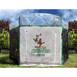 Monarch Migration Station - Pro Monarch Migration Stations, 8 ft. x 7 ft. Butterfly Learning Center