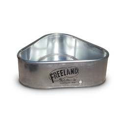 Freeland® 3-Sided Galvanized Tanks - Small - 34 in. W x 11 in. H