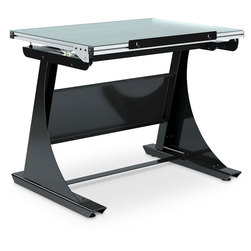 Sit-2-Stand Drawing Table - 12 in. x 42 in. x 32 in.
