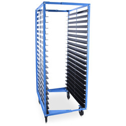 Gran Adell Mobile Screen Rack - 25 in. - 36 in.