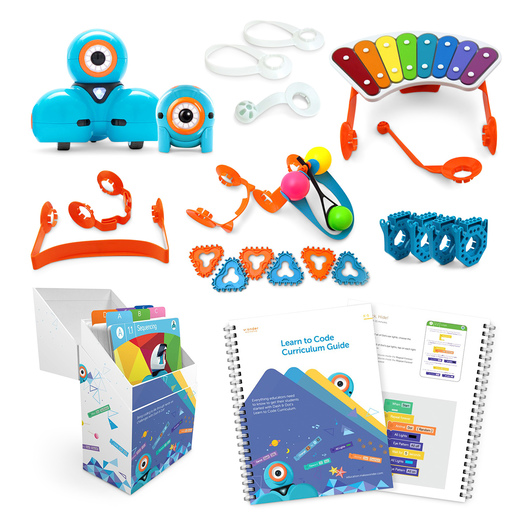 Dash™ and Dot™ Learn to Code Education - Wonder Pack and Curriculum Bundle