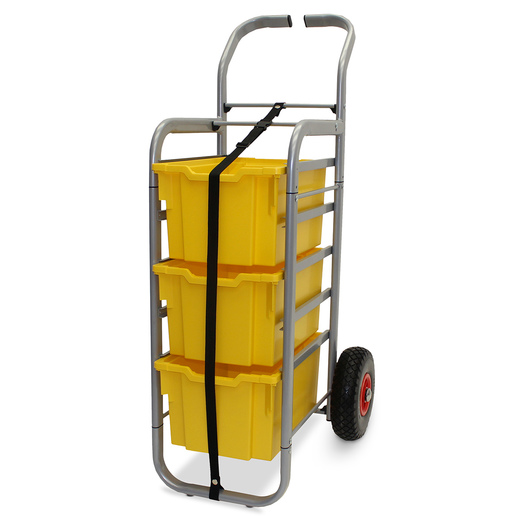 Gratnells Rover All-Terrain Cart - With 3 Extra Deep Trays - Sunshine Yellow
