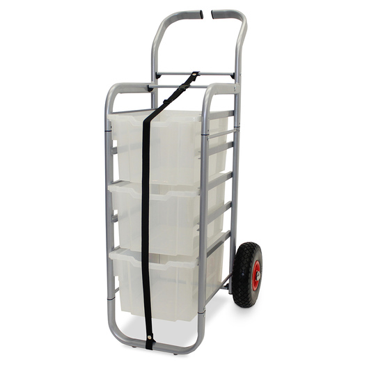 Gratnells Rover All-Terrain Cart - With 3 Extra Deep Trays - Translucent