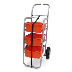 Gratnells Rover All-Terrain Cart - With 3 Deep Trays