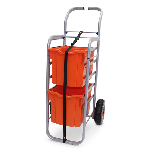 Gratnells Rover All-Terrain Cart - With 2 Jumbo Trays - Tropical Orange