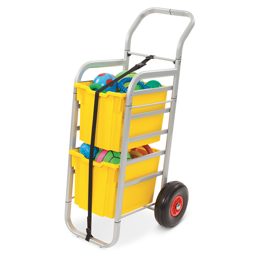 Gratnells Rover All-Terrain Cart - With 2 Jumbo Trays - Sunshine Yellow