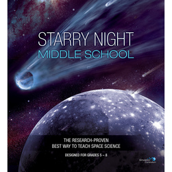 Starry Night Outline Simulation Curriculum 1-Year License for Middle School